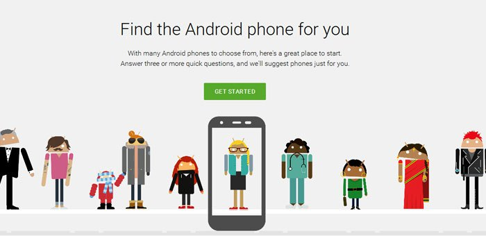Google's 'Which Phone?'