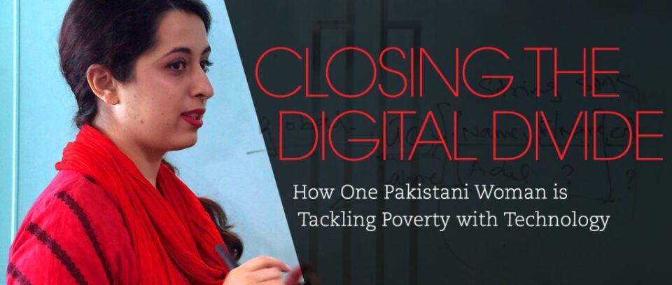 Tackling poverty with technology - Samia Razaq